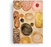 donuts. Canvas Print