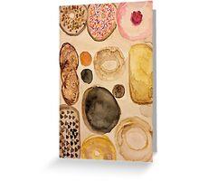donuts. Greeting Card