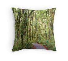 Enchanted Pathway Throw Pillow