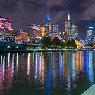 Melbourne Skyline by Darren Freak