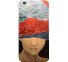 "Good woman, better mum from the series ""drowning in currents"" iPhone Case/Skin"