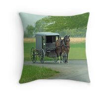 Country Ride Throw Pillow