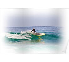 Stand up paddle board Poster