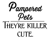 Pampered pets. They're killer cute.  by deborahsmith