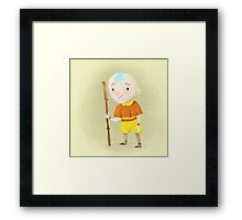Yellow Asian Warrior  Framed Print