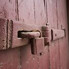The old time door  by Dene Wessling