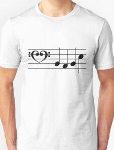 b a b e (Black on White/Colour Version) T-Shirt