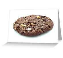 Chocolate Cookie Greeting Card