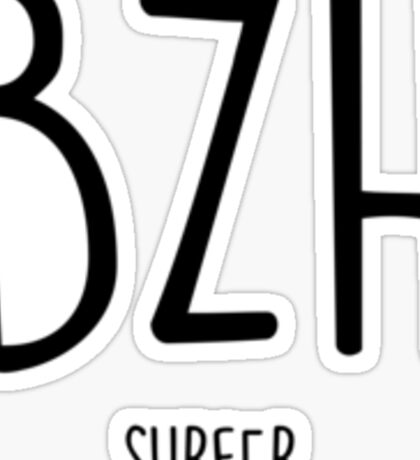 BZH Surfer Sticker