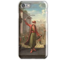 Patrona Khalil, a former marine who instigated a mob uprising that replaced. Sultan Ahmed III with Mahmud I, on February 28, 1730. 1730 (Jean-Baptiste iPhone Case/Skin