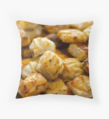 Savoury Pastries Mini Selection Throw Pillow