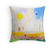 Brighter-days Throw Pillow