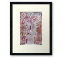 Naked Framed Print