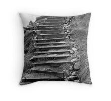 Bells Beach Steps Throw Pillow