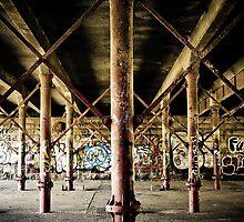Beneath bridge by Glen Turner