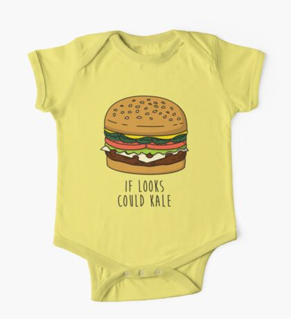 If Looks Could Kale One Piece - Short Sleeve