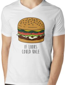 If Looks Could Kale Mens V-Neck T-Shirt