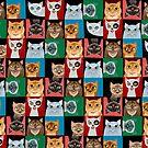 Pussies Galore! by Sonia Kretschmar