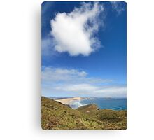 The Edge of the Earth Canvas Print