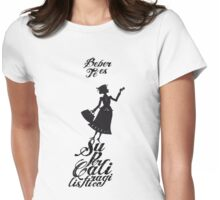 Mary Poppins té Womens Fitted T-Shirt