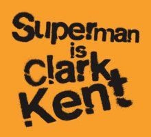 Superman is Clark Kent. by MassiFrattini