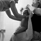 Baby Bath Time by Amanda Figueroa