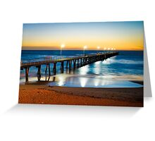 Port Noarlunga Jetty Greeting Card