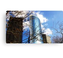 Corporate Branches Metal Print