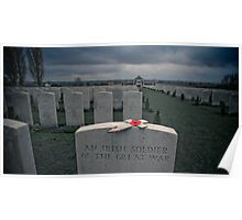 A Soldier's Grave Poster