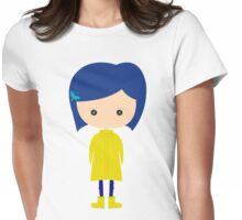 Coraline Womens Fitted T-Shirt