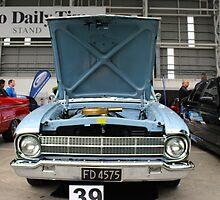 1963 XM Falcon Ute: NZ Falcon & Fairlane Car Club Nationals 2015 by mosgol
