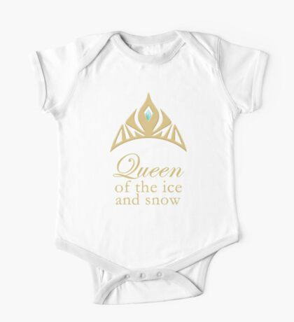 Queen of the Ice and Snow One Piece - Short Sleeve