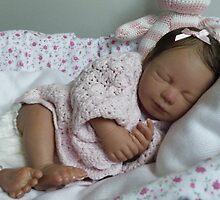 April reborn baby doll by Cassie Peek