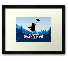 Dalek Poppins  Framed Print