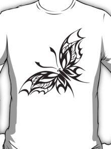 Buttefly tribal Pattern T-Shirt