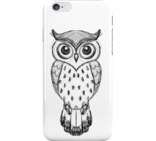 Owl Drawing iPhone Case/Skin