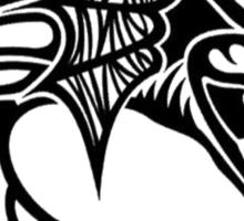 Dragon Tribal Pattern Sticker