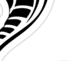 Cobra Snake Tribal Pattern Sticker