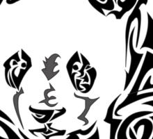 Panda Tribal Pattern Sticker