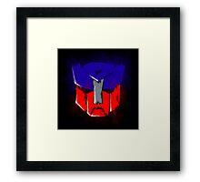 Autobot transformers Framed Print