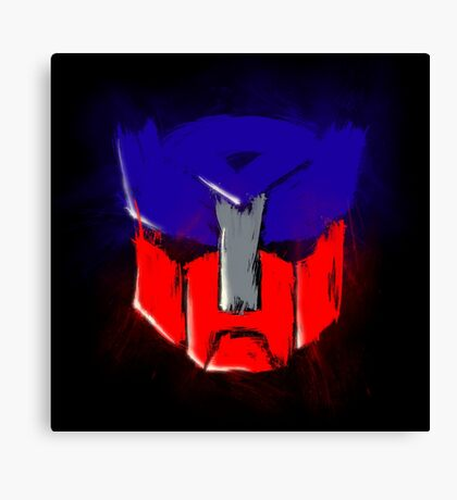 Autobot transformers Canvas Print