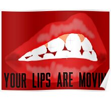 your lips are movin Poster