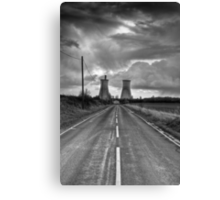 Path to power Canvas Print