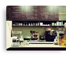 The Organic Café Canvas Print