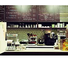 The Organic Café Photographic Print