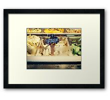 New Flavor, Sold Out Framed Print