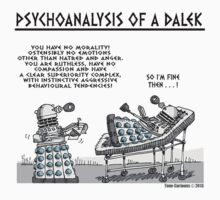 PSYCHOANALYSIS OF A DALEK T-Shirt