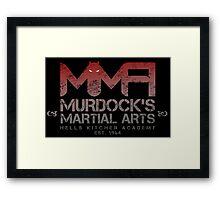 MMA - Murdock's Martial Arts (V01) Framed Print