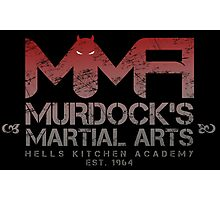 MMA - Murdock's Martial Arts (V01) Photographic Print