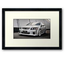 Holden Custom Modified & Supercharged VE SSV Framed Print